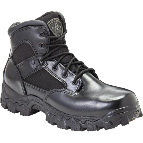 Rocky AlphaForce Waterproof CompositeToe Duty Boot - 6""