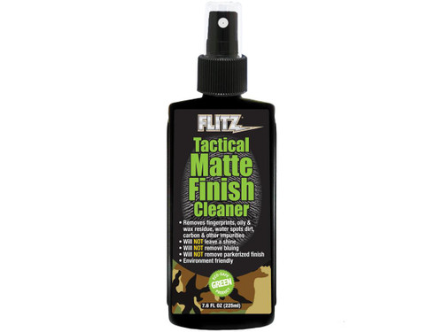 Flitz Tactical Matte Finish Cleaner (Size: 7.6oz)