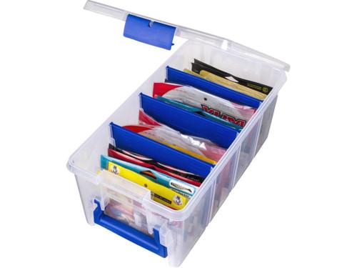 Flambeau Super Half Satchel Soft Bait / Fishing Tackle Organizer Box