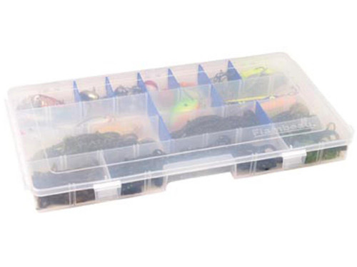 Flambeau Tuff Tainer Fishing Tackle / Organizer Box (Model: 3 - 6004R / Extended Divided)