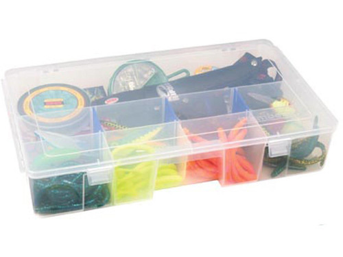 Flambeau Tuff Tainer Fishing Tackle / Organizer Box (Model: 3 - 7003R / Double Deep Divided)