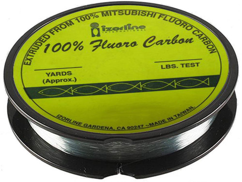 Izorline Premium Fluoro Carbon Leader (Test 100lb  25 Yards)