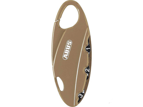 ABUS BakPac Combination Lock (Color: Tan)