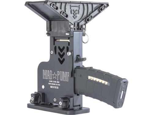MAG PUMP .223 / 5.56 / .300 BLK AR-15 Magazine Loader (Model: Elite w/ MagDump)