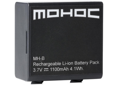 MOHOC Replacement 3.7V 1100mAh Battery for MOHOC Cameras