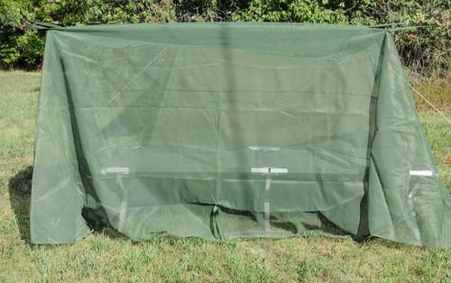 U.S. Armed Forces Bug Bars Net w/Pole Set