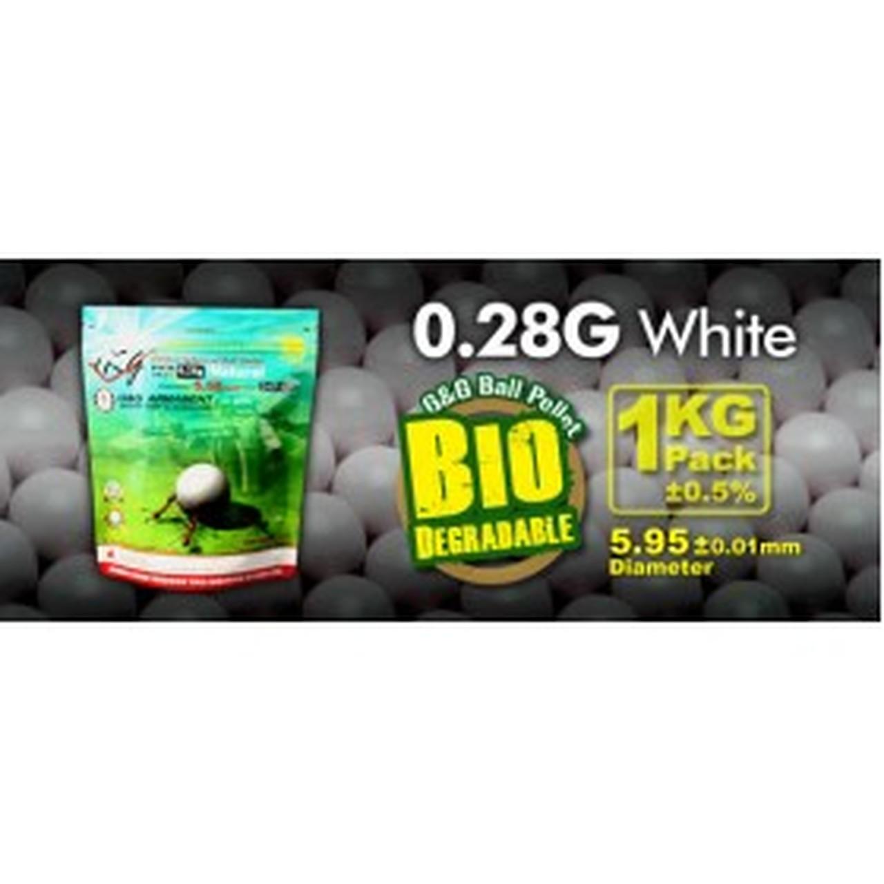 G&G Bio BB 0.28g - 1KG - 3600 Count
