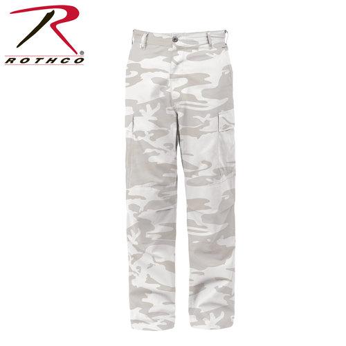Rothco Color Camo Tactical BDU Pants - White Camo