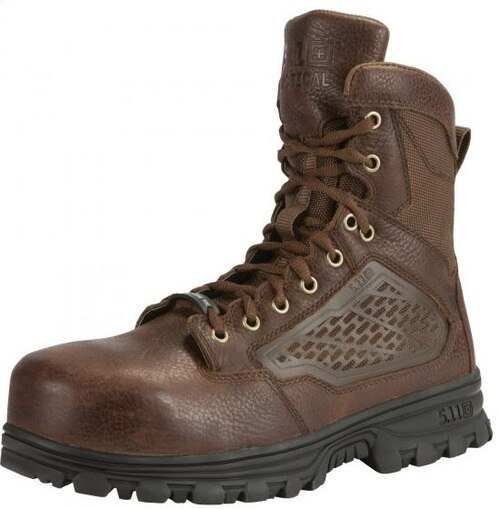 """5.11 EVO 6"""" CST Boot with Sidezip - Bison Brown"""