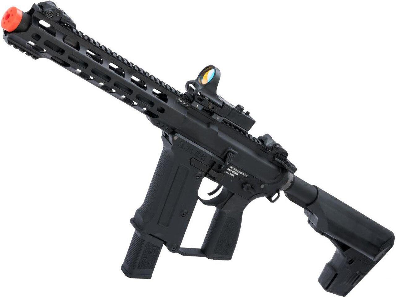 "KWA Ronin ""Tekken"" Pistol Caliber AR Airsoft AEG Rifle"