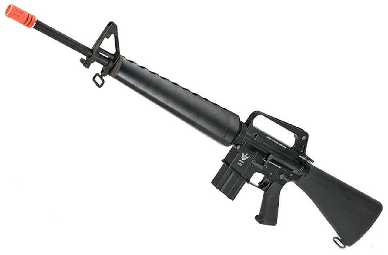 WE Open Bolt Full Metal M16-A1 VN Airsoft Gas Blowback GBB Rifle