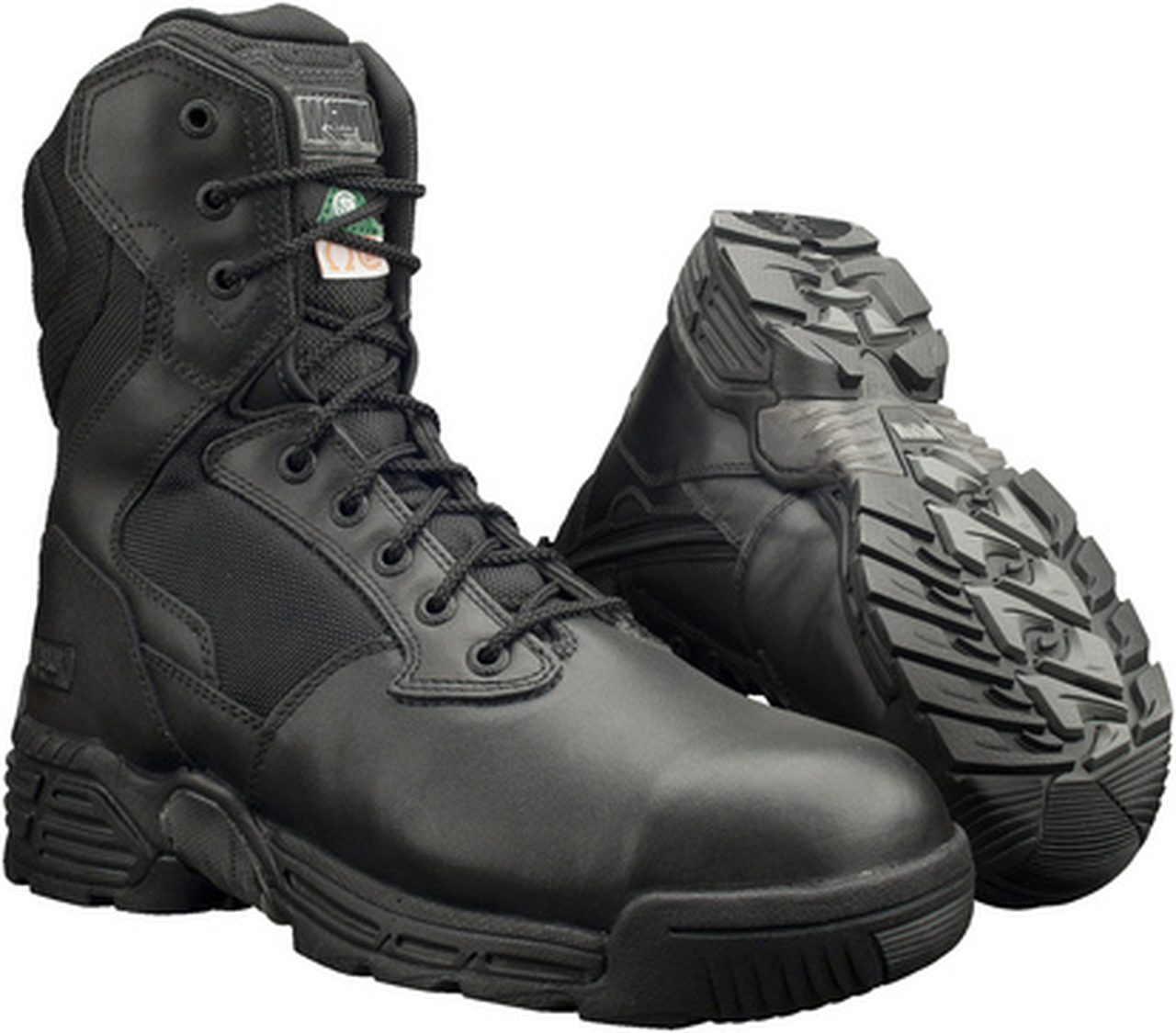 Magnum Stealth Force 8.0 Side Zip Composite Toe/Plate