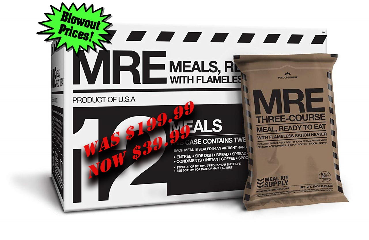 Meal Kit Supply 12 Pack w/Ration Heaters