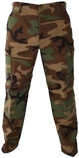 U.S. Armed Forces Woodland Combat Pants