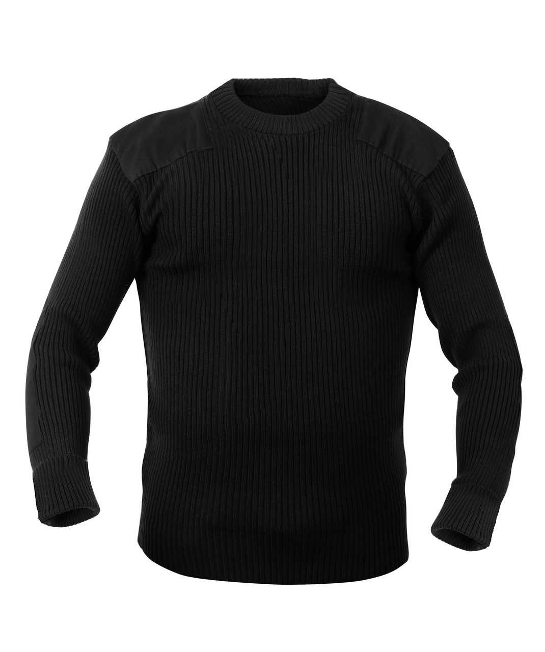 Parklands Commando Sweater - Crew Neck - Black