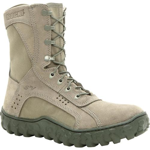 Rocky S2V Vented Military Duty Boots - Sage Green