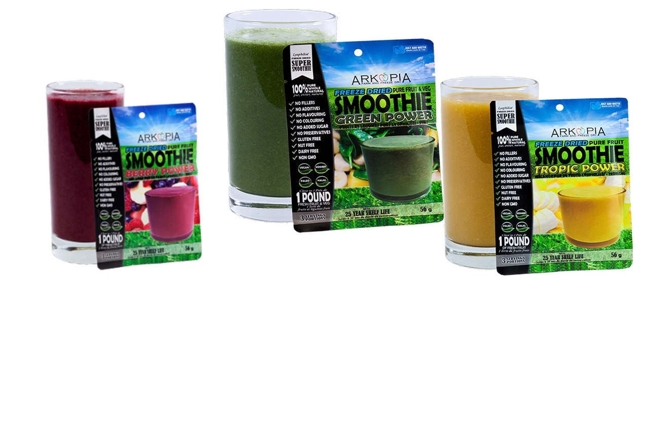 Freeze Dried Pure Fruit Smoothie