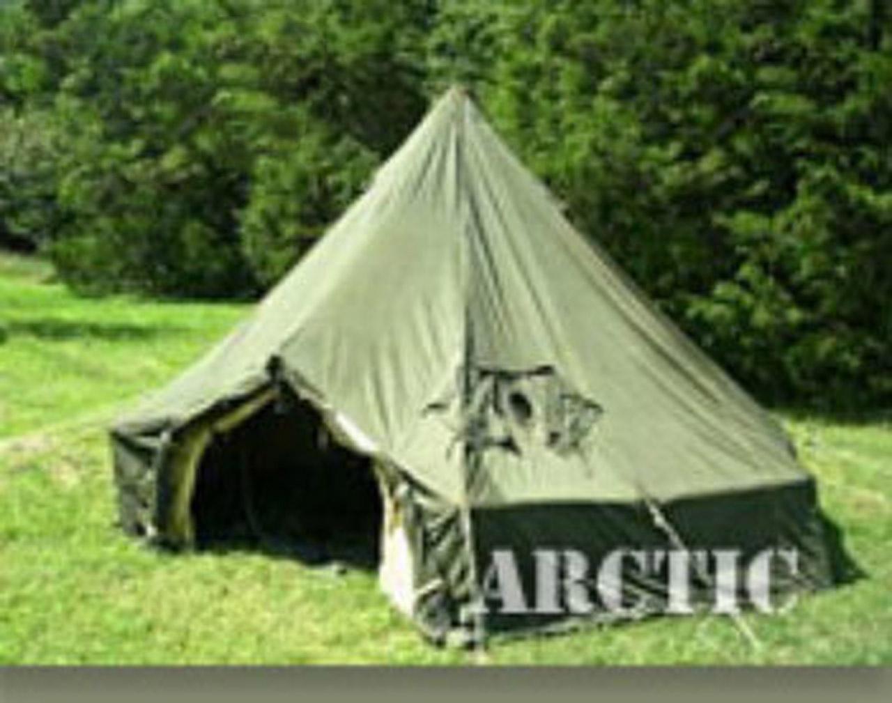10 Man U.S. Arctic Bell Tent w/ Liner - Like NEW