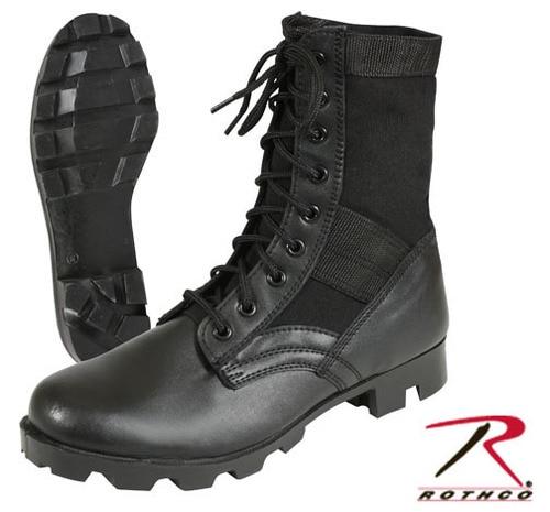 G.I. Type Jungle Boot - Black