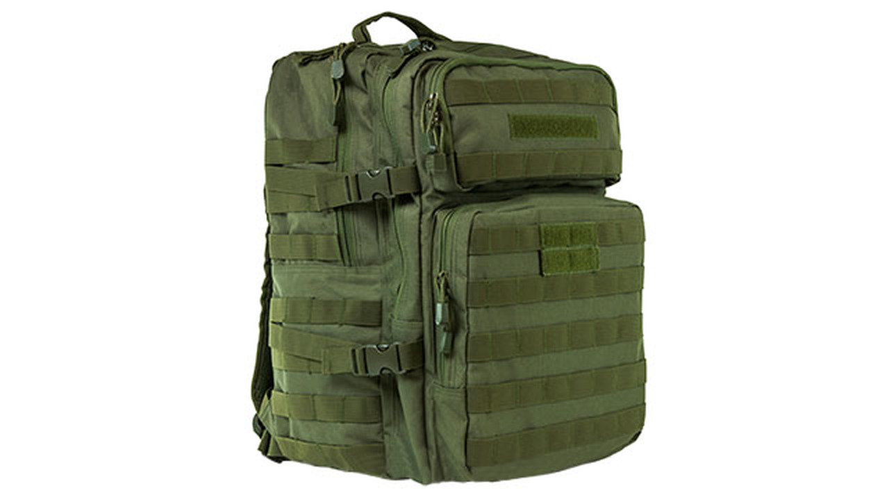VISM by NcStar 3 Day Assault Backpack - OD Green