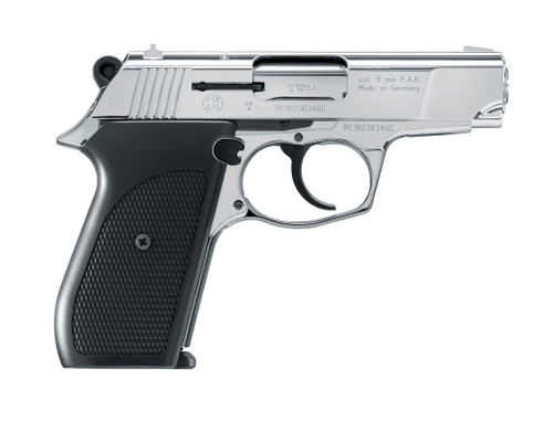 Rohm RG-88 9mm P A K  Blank Pistol -Polished Chrome