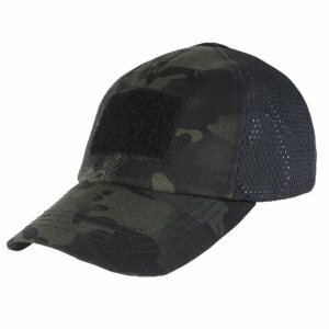 820e563ed1c80 Condor Mesh Tactical Cap - Multicam Black - Hero Outdoors