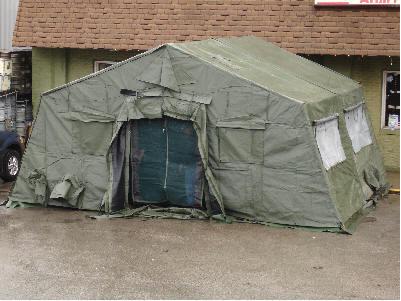 Temper Tent-U S  Armed Forces - 20'X16'