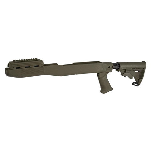 Tapco Intrafuse SKS Stock System - Russian - Olive Drab