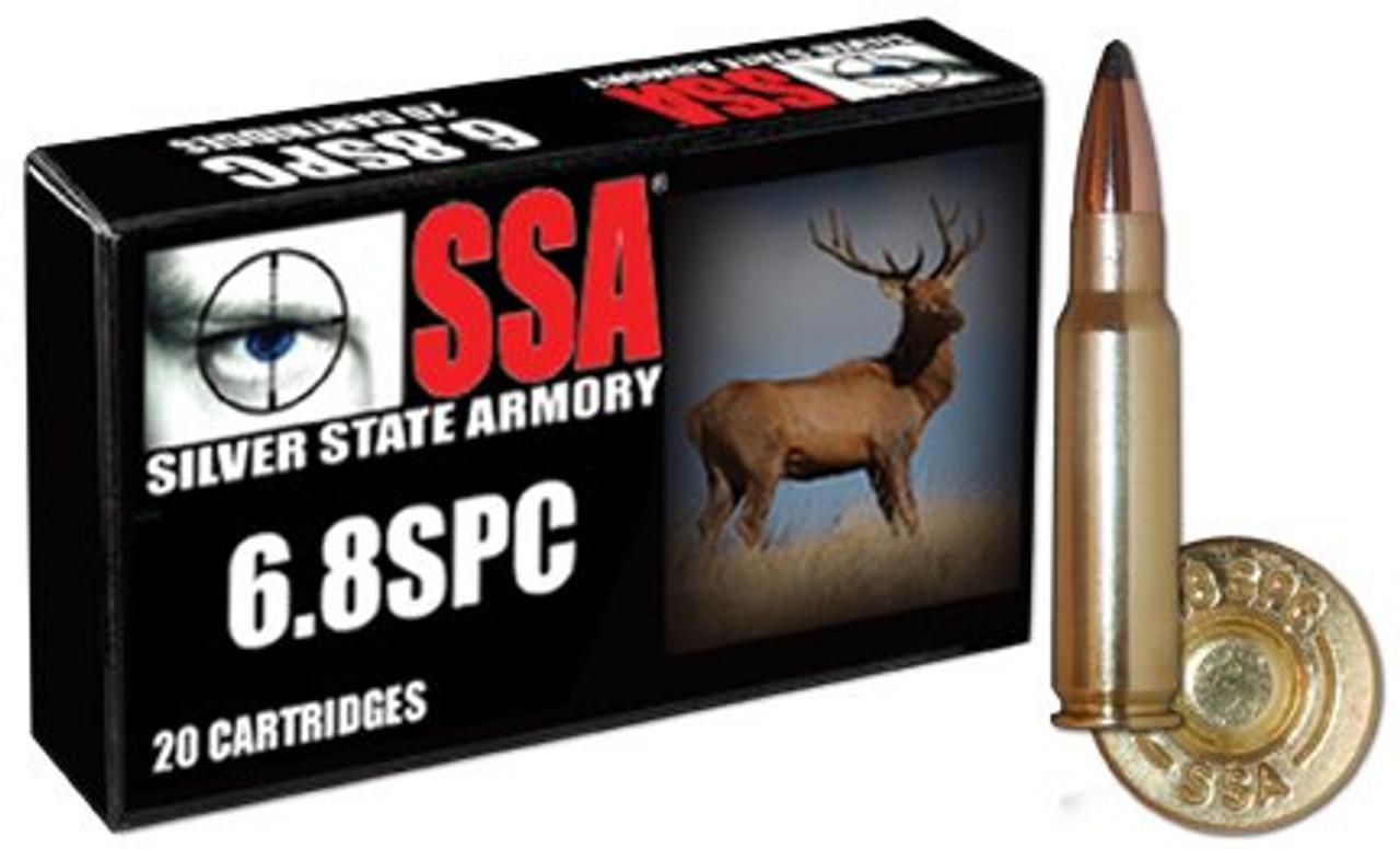 SSA 6 8 SPC , 110gr SIERRA PRO HUNTER - 20 ROUNDS
