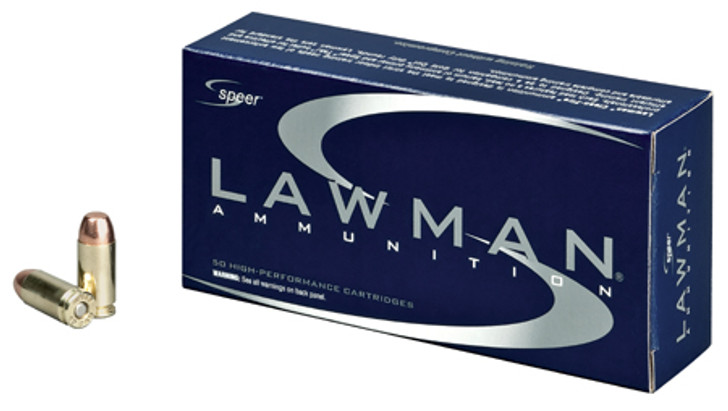 SPEER LAWMAN 40S&W 155GR TMJ (53957) - 50 ROUNDS