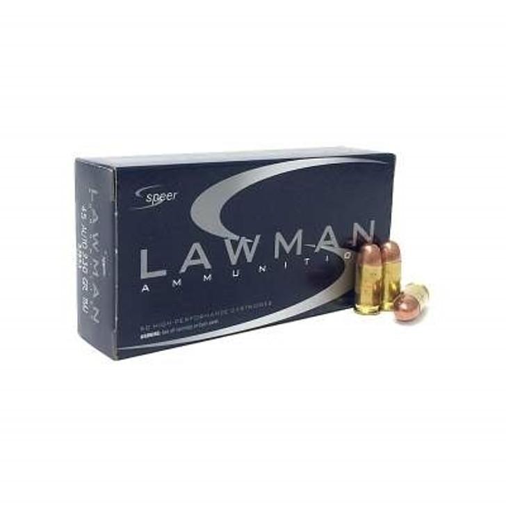 SPEER LAWMAN 45ACP 230GR TMJ 53653 - 50 ROUNDS