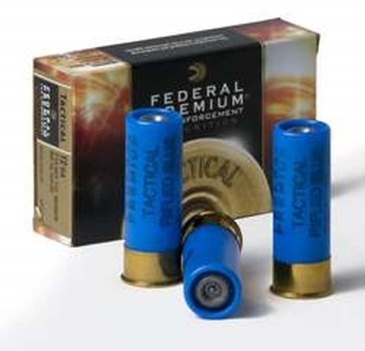 FEDERAL TACTICAL RIFLED SLUG (LE127-RS) - 5 ROUND BOX