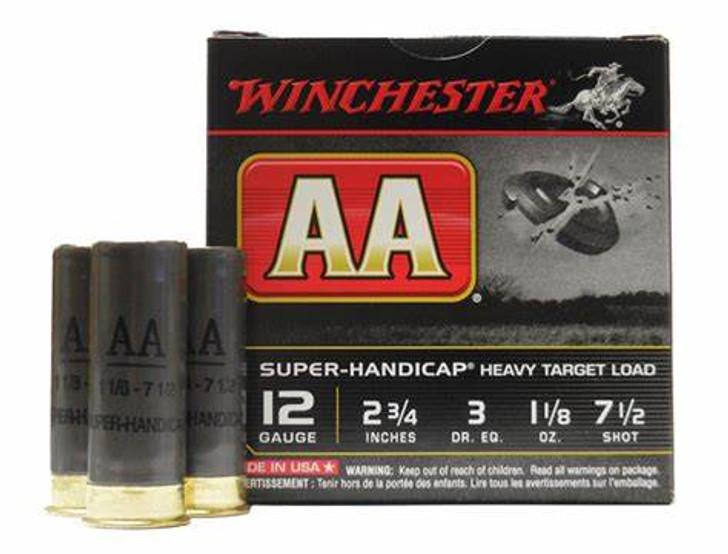 WINCHESTER AA SUPER HANDICAP 12GA - 25 ROUNDS