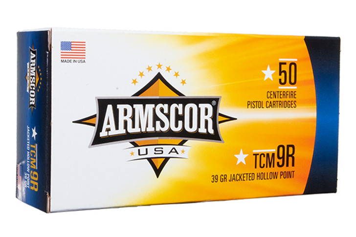 Armscor 22TCM9R 39 Grain Jacketed Hollow Point 50 Round Box FAC22TCMNR-1N