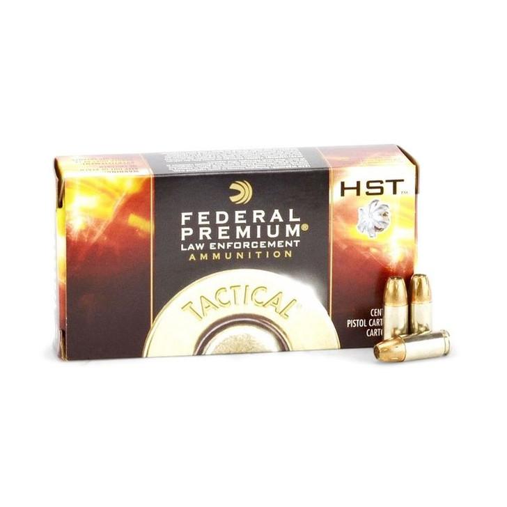 FEDERAL PREMIUM LAW ENFORCEMENT TACTICAL HST 147 Grain 9mm P9HST2 - 50 ROUNDS