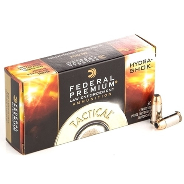 Federal Premium Tactical HYDRA-SHOK 124grn 9mm JHP 50 Rounds P9HS1G1