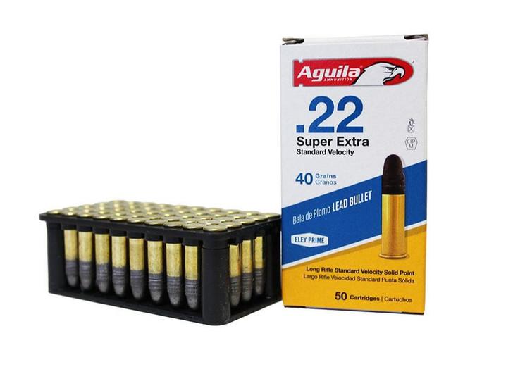 AGUILA STANDARD VELOCITY 22LR 40GR 50RD 1B222332