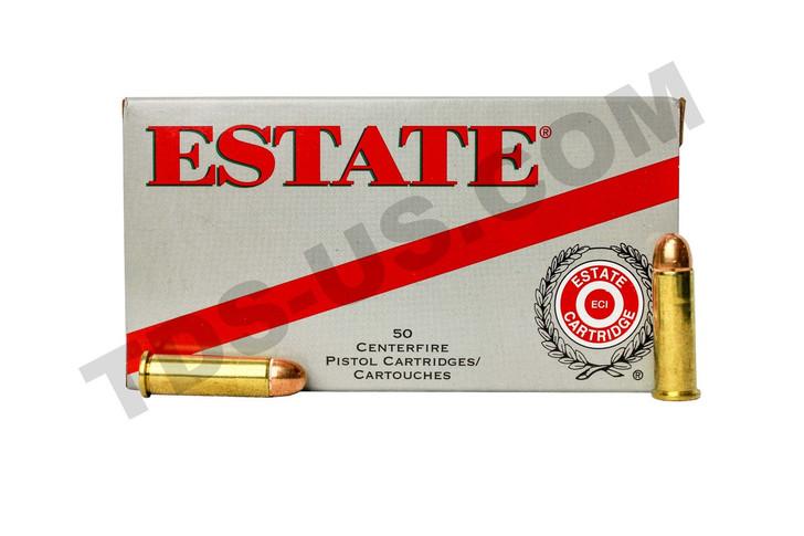ESTATE RANGE & TARGET .38 S&W 130GR FMJ - 50 ROUNDS