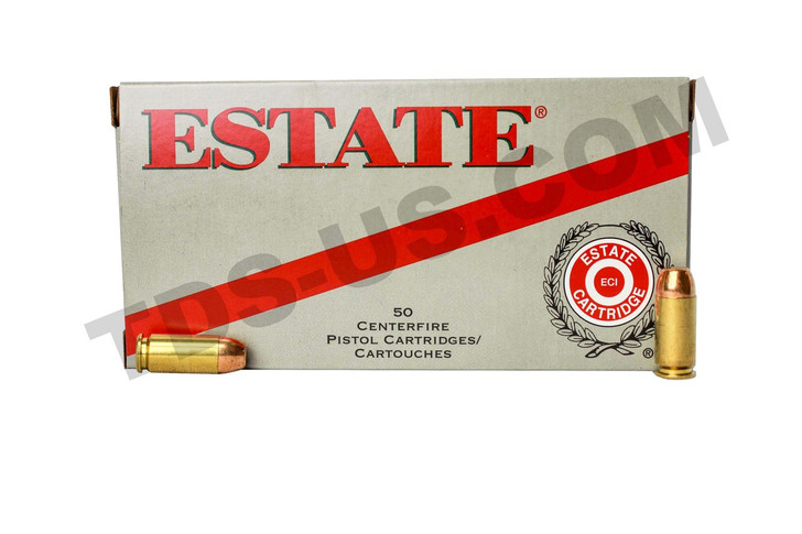 ESTATE RANGE & TARGET .40 S&W 180GR FMJ ESH40180 - 50 ROUNDS