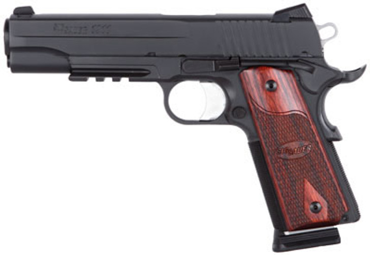 Sig Sauer 1911R45BSS 1911 Traditional 45ACP 5 in 8+1 Wood Grip Black