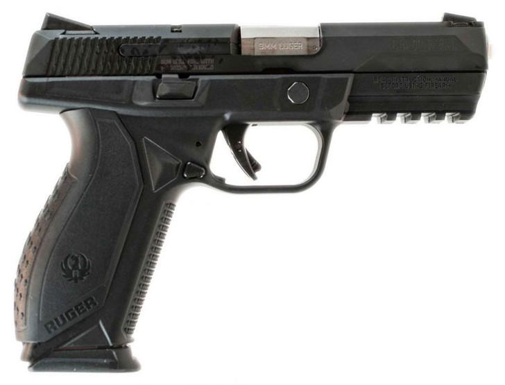 "Ruger American Pro Duty Semi Auto 9mm 4.2"" Barrel 17 Rounds Black 08605"