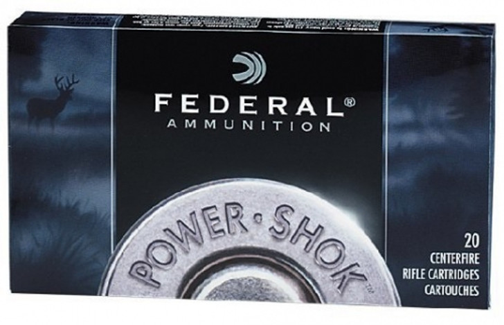 Federal 338 200 GR UNI-COR Power-Shok Soft Point 338FJ