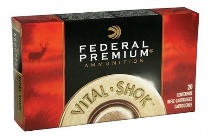 Federal Vital-Shok 338 Winchester Magnum 200 Grain Trophy Bonded Bear Claw P338TT2 - 20RD Box
