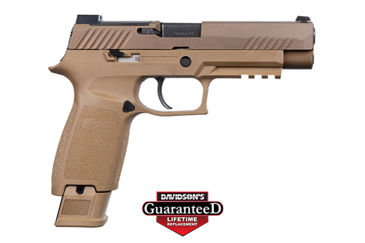 SIG Sauer P320 M17 9MM (1) 17+1 and (2) 21+1 320F-9-M17