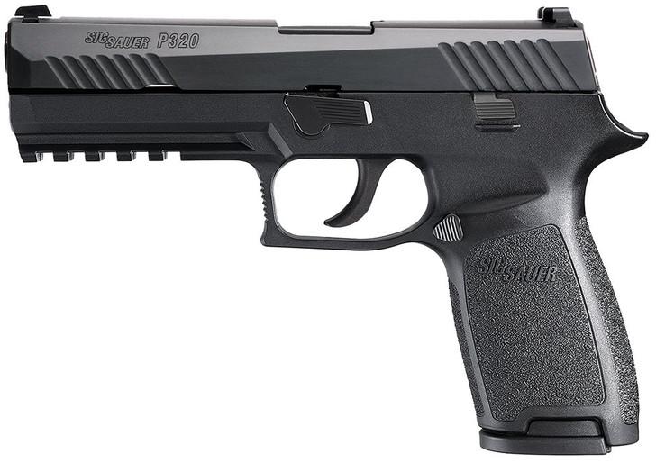 "Sig Sauer P320 Nitron 320F-9-BSS Full Size 9mm 4.7"" 17+1"