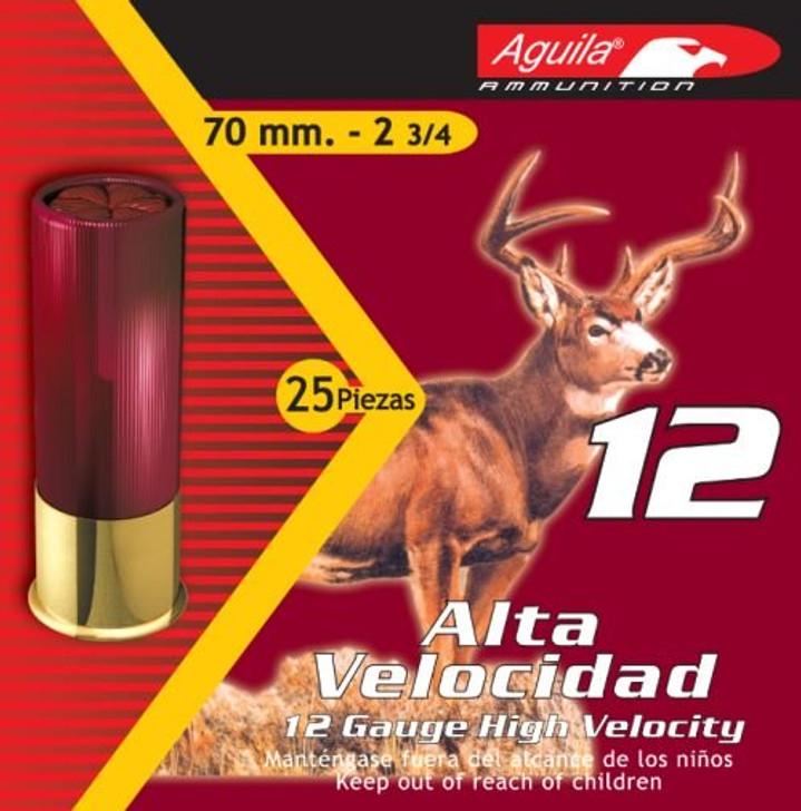 "Aguila High Velocity 12 GA 2.75"" 1-1/4 oz 7.5 Round 25 Round Box  1CHB1207"