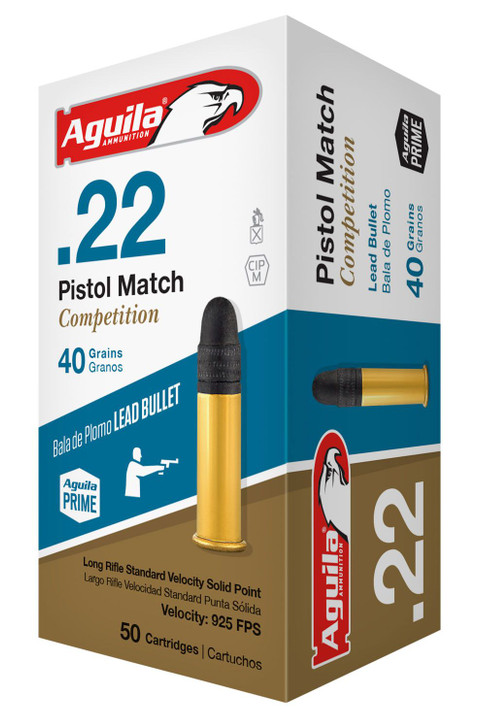AGUILA Pistol Match Competition - 500 ROUNDS