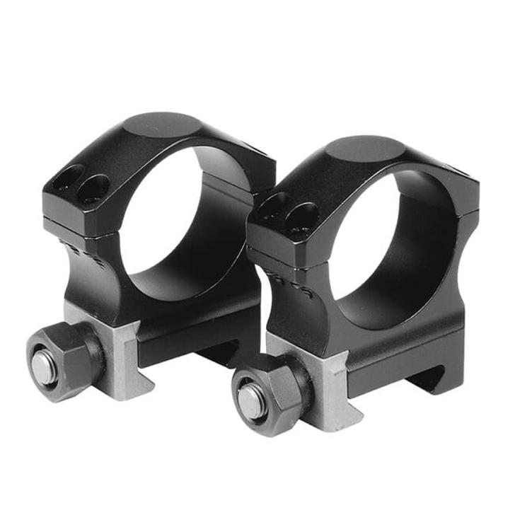 "Nightforce X-Treme Duty UltraLite .885"" Low 30mm 4 Screw Ring Set A118"