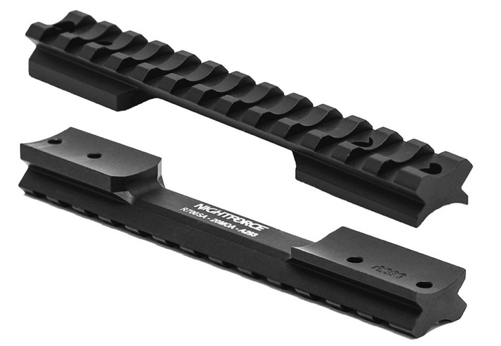 Nightforce Standard Duty Aluminum Rem 700 SA 20 MOA Base A293