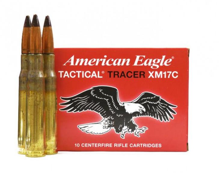 Federal American Eagle .50 BMG 618 Grain TRACER XM17C